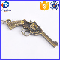 Cheap Promotion Small Size GUN AND WEAPON Keyring For Men self defense weapons