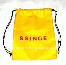 2012 Hot Sell Durable drawstring bag (promotional drawstring backapck )