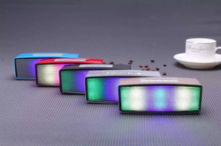 LED Display Specialized bluetooth portable speaker with usb port white Guangdong factory