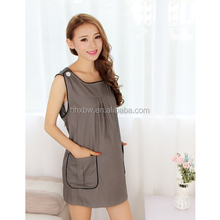 wholesale 100% cotton womens dresses high fashion outdoor maternity clothes