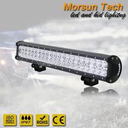 "new 3D /MS-28126/ 3w leds osram chip 20"" curve led light bar"