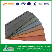 Newest Design Colorful Stone Coated Metal Roofing Tile with Good Pirce