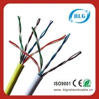 2015 customized 4 pair cat5 utp lan cable utp cat5e lan cable 4pr 24awg