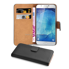 Premium Shock Proof PU Leather Wallet Case Cover With Stand For Micromax Unite 3 Q372