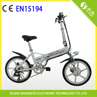 "20"" Folding Electric Dirt Bikes For Adults Made In China"
