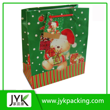 Promotional Christmas Gift Paper Bag, Fashion Paper Bag with Full Color Printing