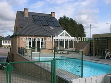Keymark,En12975,SRCC,F378,ISO patent high effecient hot sale pressurized swimming pool solar collectors from China