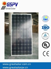 High performance!!!Mono solar panels 180W PV modules A grade with reasonable price