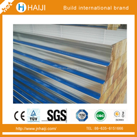 hot sale and good price fireproof sandwich panel rockwool for modular house or container home