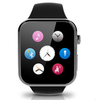 2015 smartphone watch A9 for apple phone function heart rate and compatible for ios & android phone