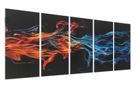 Top sell Newest Modern 3D wall sculpture for home decoration