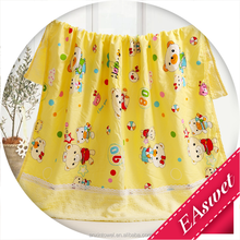 wholesale lovely towel blanket front cloth back terry cotton children baby towel blanket