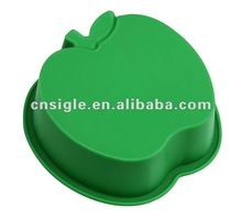 silicone mini apple shape cake cup