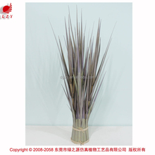 Colorful grass bush fake grass for arts artificial onion grass
