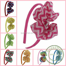 IN STOCK Baby Girls Headbands/Infant Hairbands Chiffon Bow Headbands