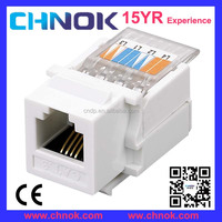 RJ11 4P4C telephone connector cat3 modular jack