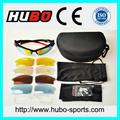china nuevo diseño de lente reemplazable por la miopía uv400 gafas de sol deportivas