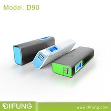 9000MAH LCD Display Portable Power Bank External Battery Charger