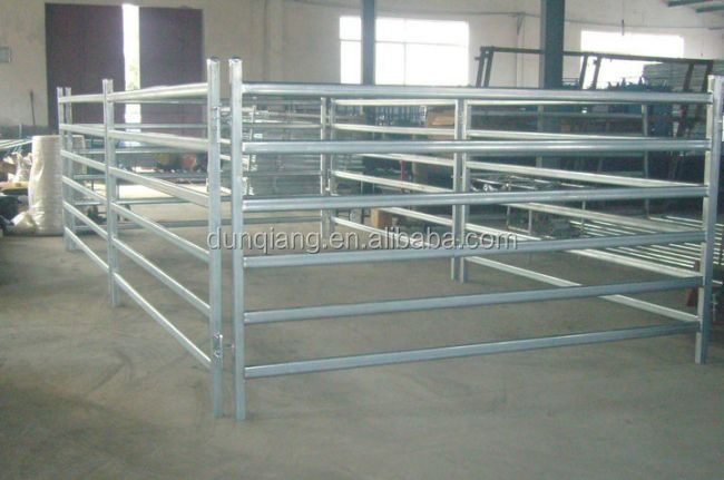 Square tubes Corral cattle fencing panels.jpg