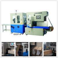 SD297-A automatic book banding and Kraft paper packaging machine