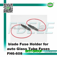 blade Fuse Holder for auto Glass Tube Fuses FH6-608