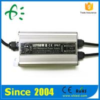 IP67 80% Efficiency CE ROHS 12V 80W Waterproof AC DC Power Supply