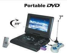 stock portable cd dvd evd player portable 3d dvd player 7.8'' portable dvd player