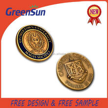 Popular factory price manufacture metal badge provider
