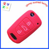 Silicone Car Remote Key Holder for Replacement, 3 Buttons Remote Key Cover