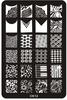 Stamping DIY Nail Beauty Designs 3d Nail Art Mold Nail Template For Nail Beauty Care