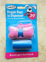 dog poop bags in roll