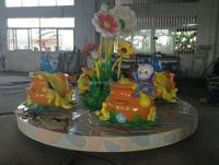 Theme Park Fiberglass Rotary Games Indoor Amusement Ride