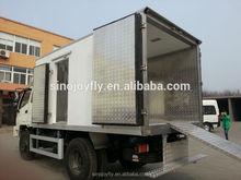 cargo truck body/cargo van body/van body dual compartment truck bodies