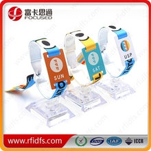 high quality with ISO14443A protocol rfid small card rfid nylon wristband