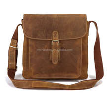 Free Shipping J.M.D Brand Excellent Crazy Horse Leather Men Hobo Bag #7111B