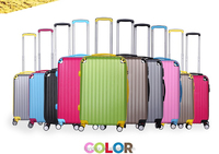 2015 Suitcase Type and PC ABS Material lightweight traveler Rolling luggage travel bags