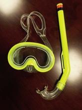 Children scuba diving equipment snorkel swimming fins set