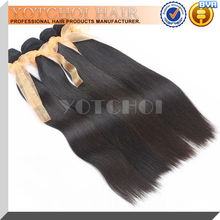 Natural color mixed length low price straight human hair 7a grade cheap 100% brazilian virgin hair