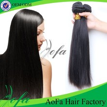 Large stock and ture length 7A grade 100% remy brazilian straight hair