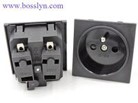 Excellent quality manufacture wall mounted power outlet socket