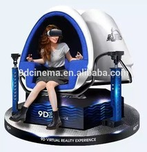 New products immersive cinema equipment 9d egg VR cinema funny games