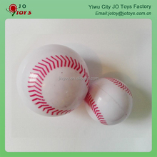 Promotional tennis hollow super toy ball for baby