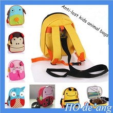 2015 Hot Selling Students outdoor camping bag meal kits for children Anti-lost animal insulation package MHo-018