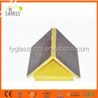 Thermal insulation material air condition Glass wool for HVAC system