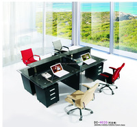 4 seat office workstation cubicle for 4 people