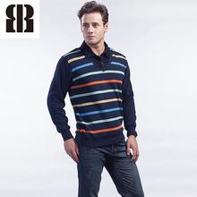 Bemme listra manga comprida modelos blusas personalizadas de tricô