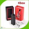 Vindoura nova caixa Mod Kangertech primeira caixa Mod cor preta 18650 bateria Kbox 40 w em estoque