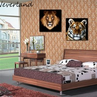 Tiger handpainted modern decoration oil painting wall art paintings picture paiting canvas paints home decor DIY Picture HH19