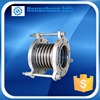 stainless steel bellows corrugated pipe compensator flange