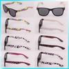 Glasses manufacturer child eyewear with dots printed detail